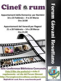 Cineforum by Forum Giovani Resuttano
