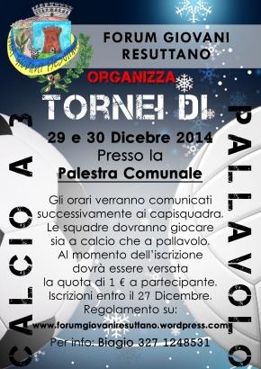 TORNEO PALLAVOLO CALCIO